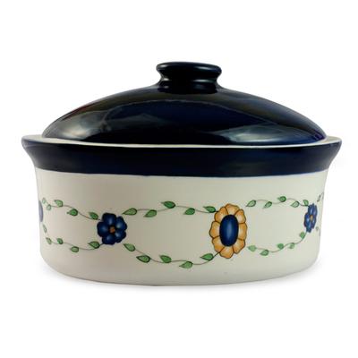 Ceramic serving dish, 'Margarita' - Ceramic serving dish