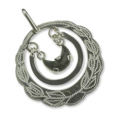 Jade choker necklace