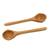 Cedar serving spoons, 'Nature's Bounty' (pair) - Cedar serving spoons (Pair) thumbail