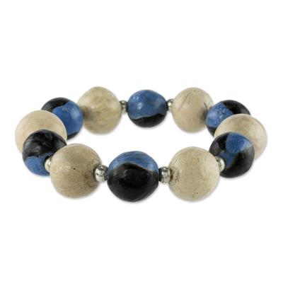 Ceramic stretch bracelet
