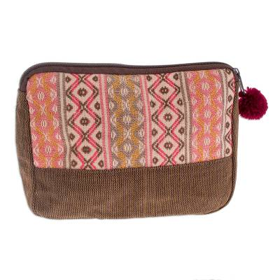 Novica Cotton travel bag, Rose Whisper