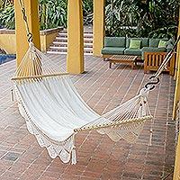 Cotton hammock, 'Montelimar Sands' (single)