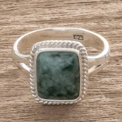 Jade Jewelry Artisan Crafted Ring