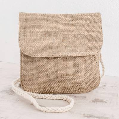 Jute shoulder bag, Natures Details