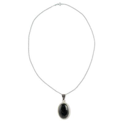Reversible jade pendant necklace, 'Dark Green Toucan' - Artisan Crafted Dark Green Jade Reversible Necklace