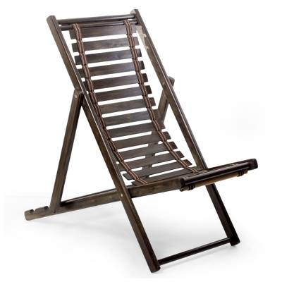 Wood Folding Chair Relax Small Laurel Adjule Lounge