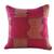 Cotton cushion cover, 'Red Delight' - Maya Backstrap Loom Woven Red Cotton Cushion Cover (image 2a) thumbail