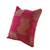 Cotton cushion cover, 'Red Delight' - Maya Backstrap Loom Woven Red Cotton Cushion Cover (image 2b) thumbail