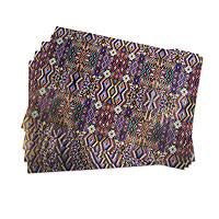 Wrapping paper, 'Chichicastenango' (6 sheets) - Maya Weaving Motif Wrapping Paper (6 Sheets)