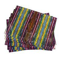 Wrapping paper, 'San Antonio Aguas Calientes' (6 sheets) - Eco Friendly Maya Textile Print Wrapping Paper (6 Sheets)