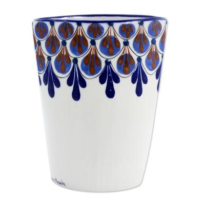 guatemalan terracotta vase original design crafted by hand rainforest showers novica. Black Bedroom Furniture Sets. Home Design Ideas