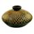 Ceramic decorative vase, 'Chinandega Fields' - Nicaraguan Handcrafted Green Terracotta Decorative Vase (image 2a) thumbail
