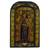 Wood relief wall panel, 'Virgen del Carmen' - Artisan Crafted Wood Wall Panel of the Virgin and Child (image 2a) thumbail