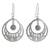 Jade dangle earrings, 'Quetzal Romance' - Handcrafted 925 Silver and Jade Quetzal Bird Earrings (image 2a) thumbail