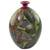 Ceramic decorative vase, 'Nicaraguan Forest' - Decorative Terracotta Vase with Colorful Birds and Flowers thumbail