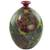 Ceramic decorative vase, 'Nicaraguan Forest' - Decorative Terracotta Vase with Colorful Birds and Flowers (image 2c) thumbail