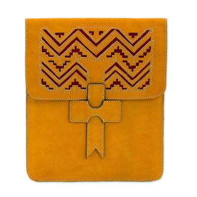 Novica Leather portfolio, Ancient Zigzags