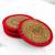 Pine needle coasters, 'Latin Toast in Red' (set of 4) - Pine Needle Polyester Red Coasters (Set of 4) Guatemala (image 2b) thumbail