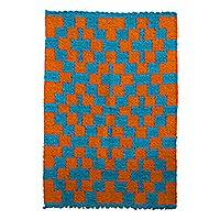 Featured review for Wool area rug, Sunrise Path