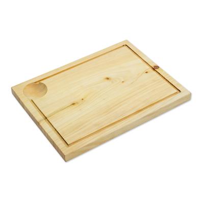 Hand Made Cypress Wood Cutting Board from Guatemala, 'Natural Kitchen'
