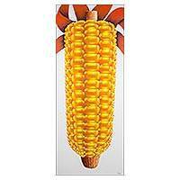 'Maize of Life' - Signed Painting of Golden Maize from Guatemala