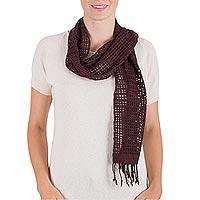 Rayon scarf,
