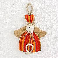 Featured review for Cotton and agave wall hanging, Dawn Angel