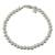 Sterling silver beaded bracelet, 'Beauty in Simplicity' - Gleaming Sterling Silver Beaded Bracelet from Guatemala (image 2a) thumbail