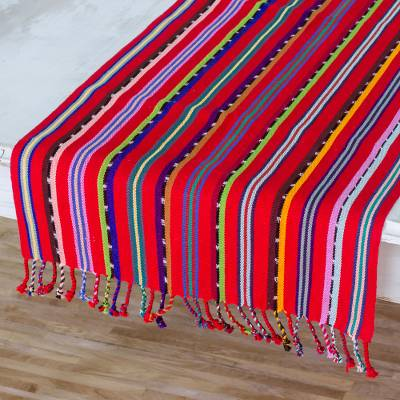 Cotton table runner, Villages of Guatemala