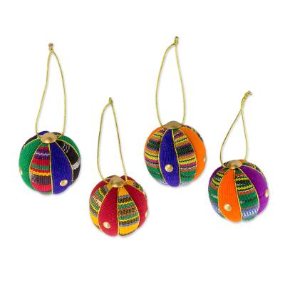 Guatemalan Christmas Ornaments