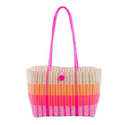 Novica Plastic shoulder bag, Picnic Day