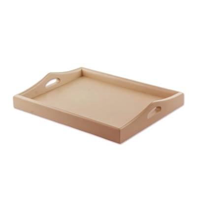 Handmade Serving Tray Crafted from Cedarwood