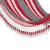 Cotton rope hammock, 'Celebration and Relaxation' (single) - Handwoven Striped Cotton Hammock (Single) from Nicaragua (image 2d) thumbail