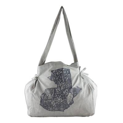 Hand Crafted 100% Cotton Shoulder Bag from Guatemala