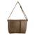 Faux leather messenger bag, 'Coffee Traveler' - Faux Leather Messenger Bag in Coffee from Costa Rica (image 2a) thumbail