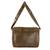 Faux leather messenger bag, 'Coffee Traveler' - Faux Leather Messenger Bag in Coffee from Costa Rica (image 2c) thumbail