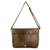 Faux leather messenger bag, 'Coffee Traveler' - Faux Leather Messenger Bag in Coffee from Costa Rica (image 2d) thumbail