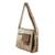 Faux leather messenger bag, 'Preparedness in Burnt Sienna' - Faux Leather Messenger Bag in Burnt Sienna from Costa Rica (image 2b) thumbail