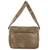 Faux leather messenger bag, 'Elegant Combination' - Handcrafted Brown Faux Leather Messenger Bag from Costa Rica (image 2c) thumbail