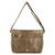 Faux leather messenger bag, 'Elegant Combination' - Handcrafted Brown Faux Leather Messenger Bag from Costa Rica (image 2d) thumbail