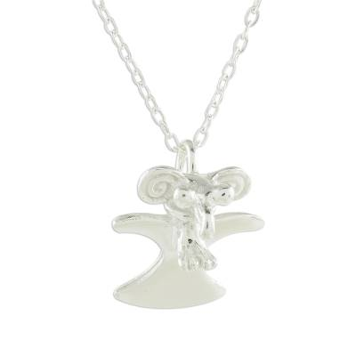 Handcrafted Sterling Silver Eagle Pendant Necklace