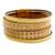 Faux leather wristband bracelet, 'Neutral Splash' - Golden Beige Four Band Faux Leather Wristband Bracelet (image 2a) thumbail