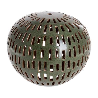 Green Terracotta Candle Shade