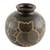 Ceramic decorative vase, 'San Juan Owl' - Handcrafted Ceramic Decorative Vase from Nicaragua (image 2a) thumbail