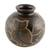 Ceramic decorative vase, 'San Juan Owl' - Handcrafted Ceramic Decorative Vase from Nicaragua (image 2c) thumbail