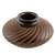 Ceramic decorative vase, 'Spiral Glory' - Handcrafted Terracotta Decorative Vase from Nicaragua (image 2a) thumbail