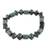 Jade beaded stretch bracelet, 'Geometric Jade' - Jade Bead Stretch Bracelet from Guatemala (image 2b) thumbail