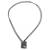 Jade pendant necklace, 'Dazzling Glory' - Green Jade Pendant Necklace with Black Cotton Cord (image 2c) thumbail