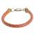 Faux leather wristband bracelet, 'Stylishly Fresh' - Handmade Faux Leather Wristband Bracelet from Guatemala (image 2a) thumbail