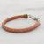Faux leather wristband bracelet, 'Stylishly Fresh' - Handmade Faux Leather Wristband Bracelet from Guatemala (image 2b) thumbail